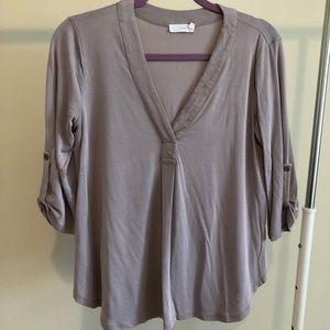 Women's gray blouse